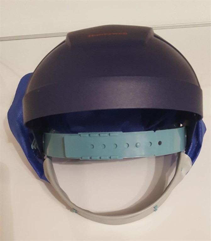 Honeywell Style Turbovisor Brow Guard And Moulded Frame. For 8 Hour Model Mask<br />n/a - https://www.airqualitylimited.co.uk/customise/themes/airq/ecommerce/honeywell/thumb/DV1501-1502 HONEYWELL TURBOVISOR BROW GUARD & MOULDED FRAME FOR 6,8 HR MODEL.JPG