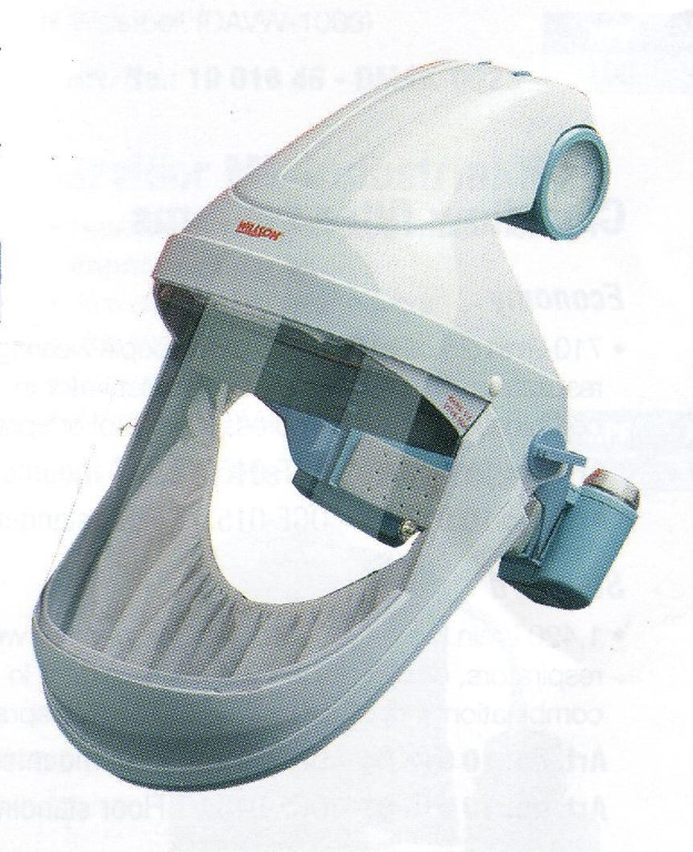Honeywell Style Turbovisor Mask With 8 Hour Head Mounted Battery Pack<br />n/a - https://www.airqualitylimited.co.uk/customise/themes/airq/ecommerce/honeywell/thumb/DVTB1001 HONEYWELL TURBOVISOR MV 8 HR.JPG