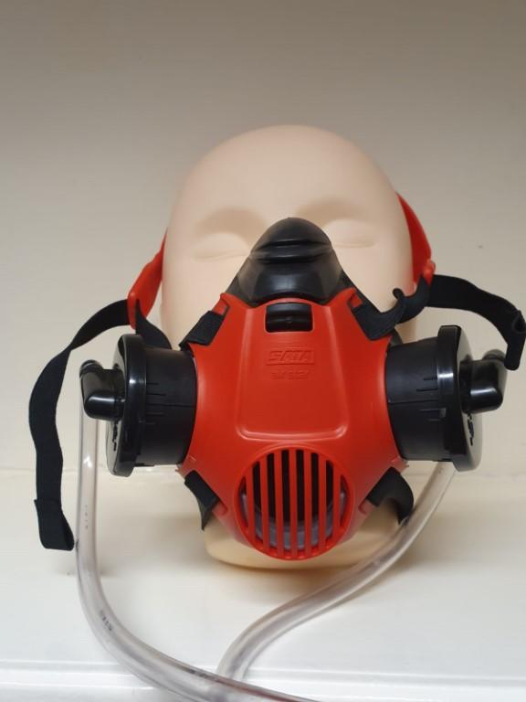 SATA Air Star C Half Mask With Breathing Air Hose S137588